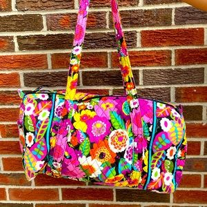 VaVa bloom small duffel bag with outside pocket
